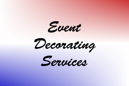 Event Decorating Services Image