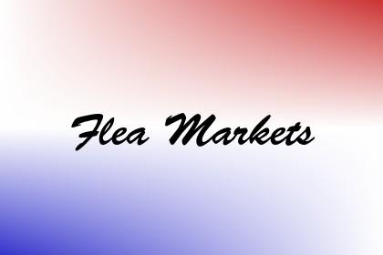 Flea Markets Image