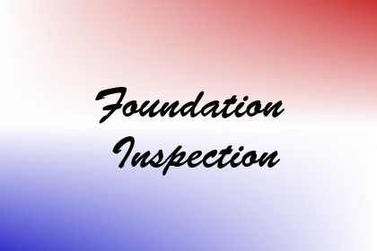 Foundation Inspection Image