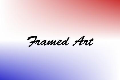 Framed Art Image