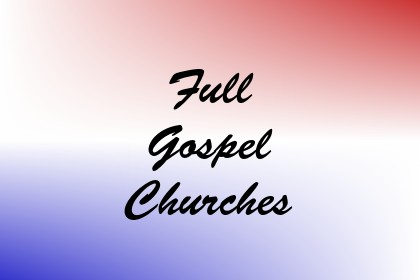 Full Gospel Churches Image