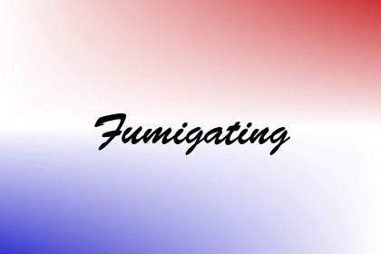 Fumigating Image