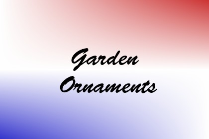 Garden Ornaments Image