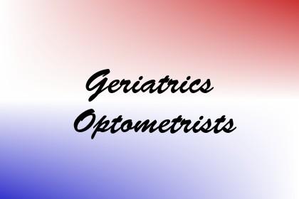 Geriatrics Optometrists Image