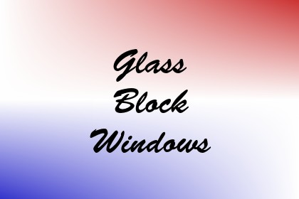 Glass Block Windows Image