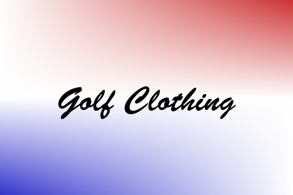Golf Clothing Image