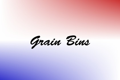 Grain Bins Image