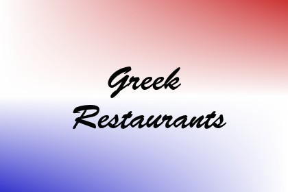Greek Restaurants Image