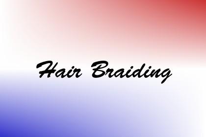 Hair Braiding Image