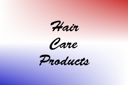 Hair Care Products Image