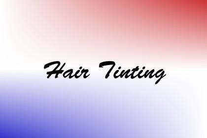 Hair Tinting Image