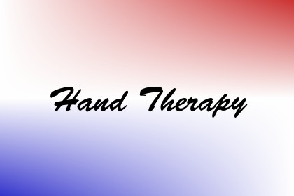 Hand Therapy Image