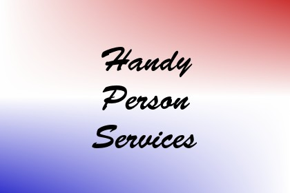 Handy Person Services Image