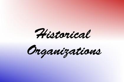 Historical Organizations Image