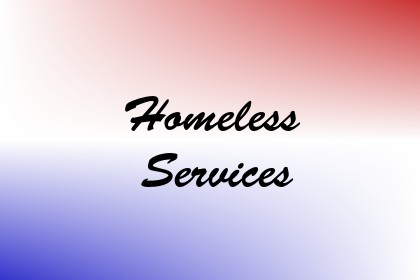 Homeless Services Image