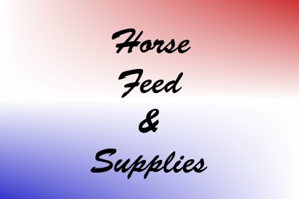 Horse Feed & Supplies Image
