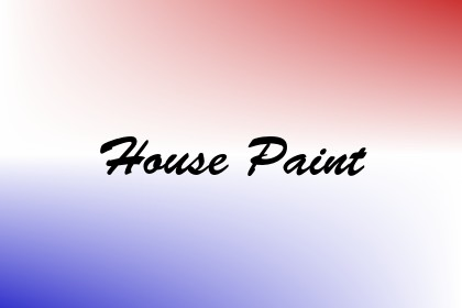 House Paint Image