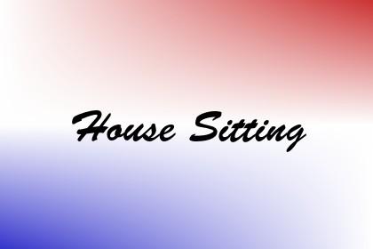 House Sitting Image