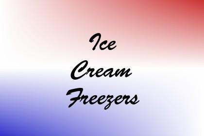 Ice Cream Freezers Image
