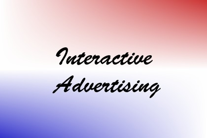 Interactive Advertising Image