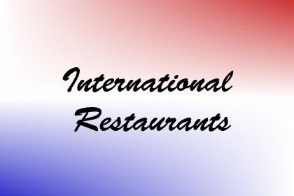International Restaurants Image
