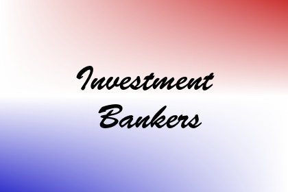 Investment Bankers Image