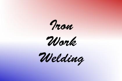 Iron Work Welding Image