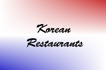 Korean Restaurants Image