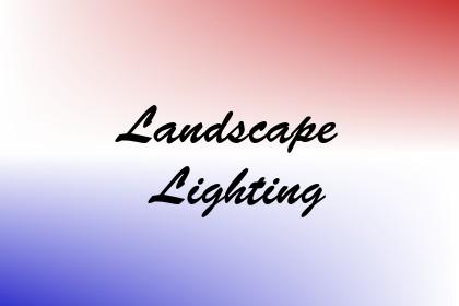 Landscape Lighting Image