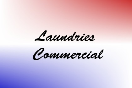 Laundries Commercial Image