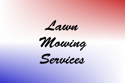 Lawn Mowing Services Image