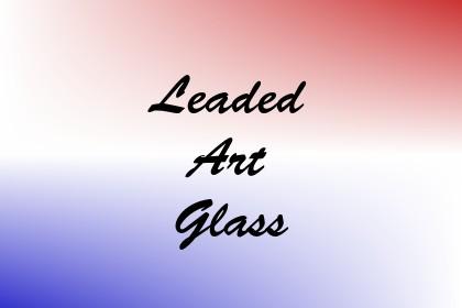 Leaded Art Glass Image
