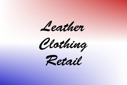 Leather Clothing Retail Image