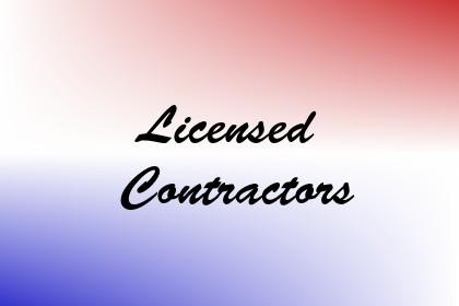 Licensed Contractors Image