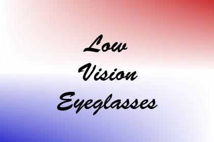 Low Vision Eyeglasses Image