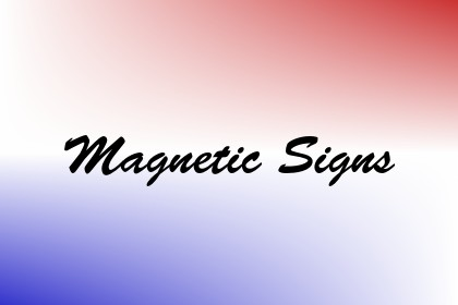 Magnetic Signs Image
