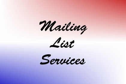Mailing List Services Image