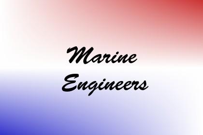 Marine Engineers Image