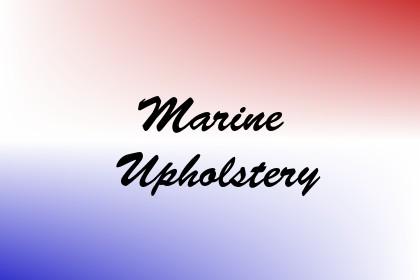 Marine Upholstery Image