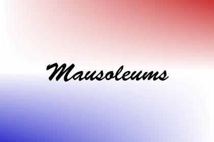 Mausoleums Image