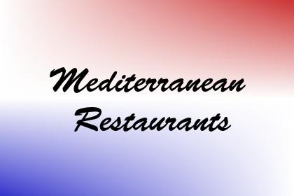 Mediterranean Restaurants Image