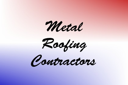 Metal Roofing Contractors Image