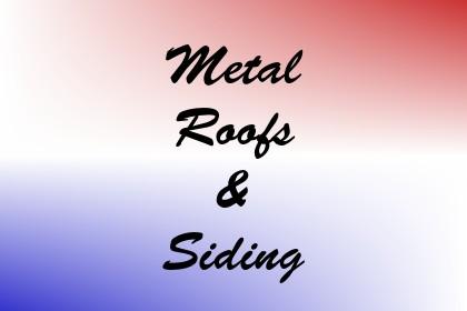 Metal Roofs & Siding Image