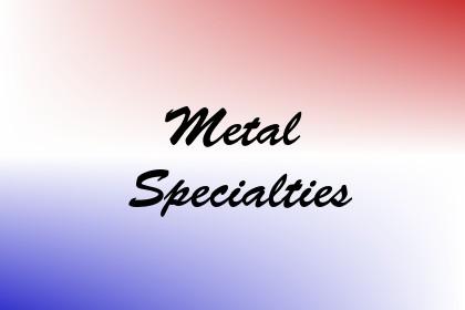 Metal Specialties Image