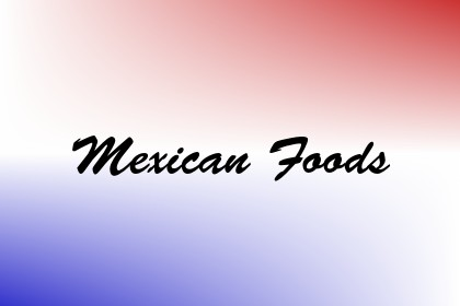 Mexican Foods Image