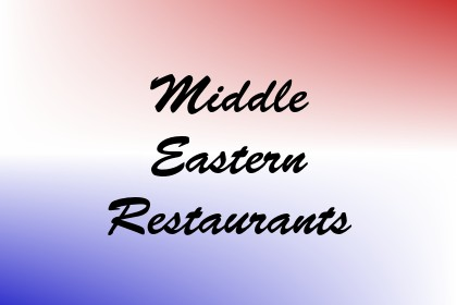 Middle Eastern Restaurants Image