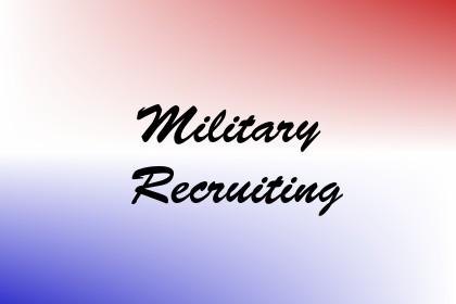 Military Recruiting Image
