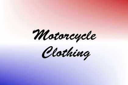 Motorcycle Clothing Image