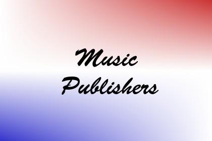 Music Publishers Image