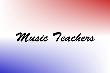 Music Teachers Image